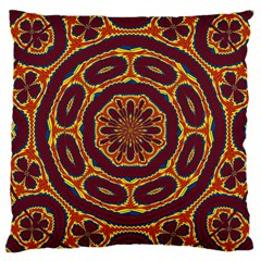 Geometric Tapestry Large Cushion Case (one Side) by linceazul