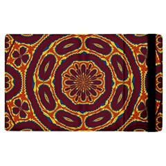 Geometric Tapestry Apple Ipad 2 Flip Case by linceazul