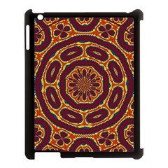 Geometric Tapestry Apple Ipad 3/4 Case (black) by linceazul