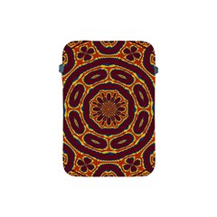 Geometric Tapestry Apple Ipad Mini Protective Soft Cases by linceazul