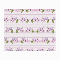 Floral Pattern Small Glasses Cloth (2 Side) by SuperPatterns