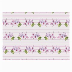 Floral Pattern Large Glasses Cloth by SuperPatterns