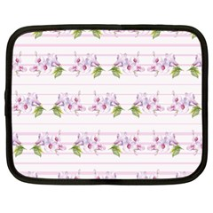 Floral Pattern Netbook Case (xl)  by SuperPatterns