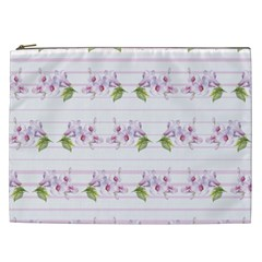 Floral Pattern Cosmetic Bag (xxl)  by SuperPatterns