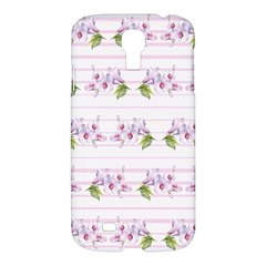 Floral Pattern Samsung Galaxy S4 I9500/i9505 Hardshell Case by SuperPatterns