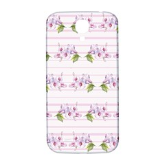 Floral Pattern Samsung Galaxy S4 I9500/i9505  Hardshell Back Case by SuperPatterns