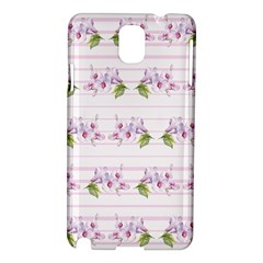 Floral Pattern Samsung Galaxy Note 3 N9005 Hardshell Case by SuperPatterns