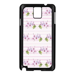 Floral Pattern Samsung Galaxy Note 3 N9005 Case (black) by SuperPatterns