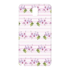 Floral Pattern Samsung Galaxy Note 3 N9005 Hardshell Back Case by SuperPatterns