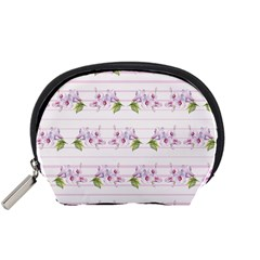 Floral Pattern Accessory Pouches (small)  by SuperPatterns