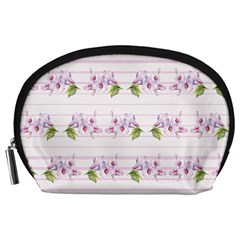 Floral Pattern Accessory Pouches (large)  by SuperPatterns