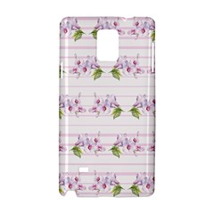 Floral Pattern Samsung Galaxy Note 4 Hardshell Case by SuperPatterns