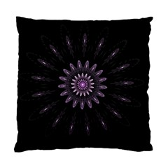 Fractal Mandala Delicate Pattern Standard Cushion Case (two Sides)