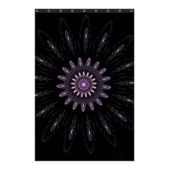 Fractal Mandala Delicate Pattern Shower Curtain 48  X 72  (small)  by Celenk