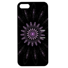 Fractal Mandala Delicate Pattern Apple Iphone 5 Hardshell Case With Stand