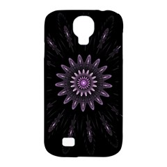 Fractal Mandala Delicate Pattern Samsung Galaxy S4 Classic Hardshell Case (pc+silicone) by Celenk