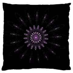 Fractal Mandala Delicate Pattern Large Flano Cushion Case (two Sides) by Celenk