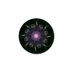 Mandala Fractal Light Light Fractal Golf Ball Marker (4 Pack) by Celenk