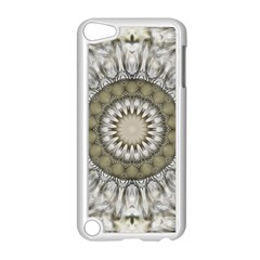 Mandala Sand Color Seamless Tile Apple Ipod Touch 5 Case (white) by Celenk
