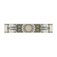 Mandala Sand Color Seamless Tile Flano Scarf (mini) by Celenk