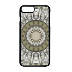 Mandala Sand Color Seamless Tile Apple Iphone 8 Plus Seamless Case (black) by Celenk