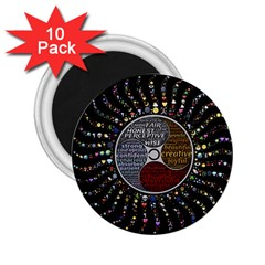 Whole Complete Human Qualities 2 25  Magnets (10 Pack)  by Celenk