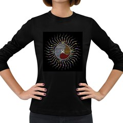 Whole Complete Human Qualities Women s Long Sleeve Dark T Shirts