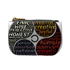 Person Character Characteristics Mini Coin Purses by Celenk
