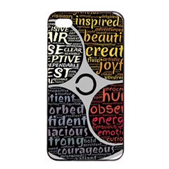 Person Character Characteristics Apple Iphone 4/4s Seamless Case (black) by Celenk