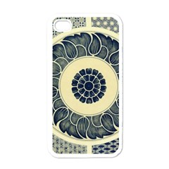 Background Vintage Japanese Apple Iphone 4 Case (white) by Celenk