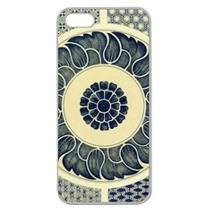 Background Vintage Japanese Apple Seamless Iphone 5 Case (clear) by Celenk