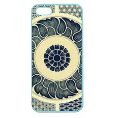 Background Vintage Japanese Apple Seamless Iphone 5 Case (color)