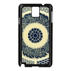 Background Vintage Japanese Samsung Galaxy Note 3 N9005 Case (black) by Celenk