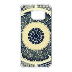 Background Vintage Japanese Samsung Galaxy S7 White Seamless Case by Celenk