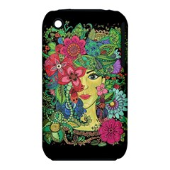 Mandala Figure Nature Girl Iphone 3s/3gs by Celenk