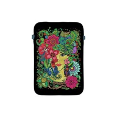 Mandala Figure Nature Girl Apple Ipad Mini Protective Soft Cases by Celenk