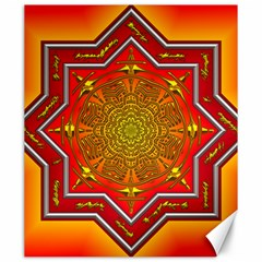 Mandala Zen Meditation Spiritual Canvas 20  X 24   by Celenk