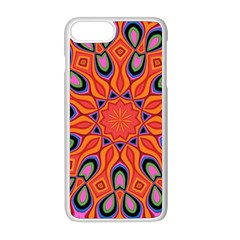 Abstract Art Abstract Background Apple Iphone 8 Plus Seamless Case (white)