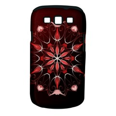 Mandala Red Bright Kaleidoscope Samsung Galaxy S Iii Classic Hardshell Case (pc+silicone) by Celenk