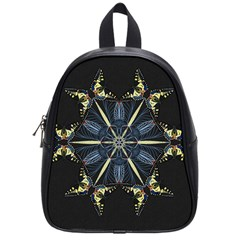Mandala Butterfly Concentration School Bag (small)