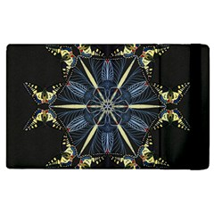 Mandala Butterfly Concentration Apple Ipad 3/4 Flip Case by Celenk
