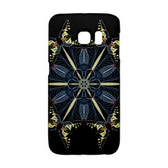 Mandala Butterfly Concentration Galaxy S6 Edge by Celenk