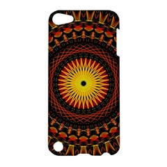 Mandala Psychedelic Neon Apple Ipod Touch 5 Hardshell Case by Celenk