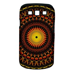 Mandala Psychedelic Neon Samsung Galaxy S Iii Classic Hardshell Case (pc+silicone) by Celenk