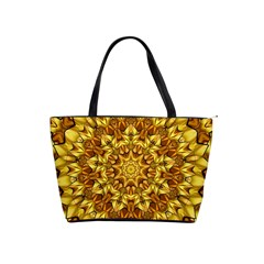 Abstract Antique Art Background Shoulder Handbags