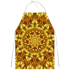 Abstract Antique Art Background Full Print Aprons