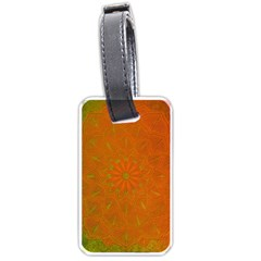Background Paper Vintage Orange Luggage Tags (one Side)  by Celenk