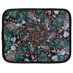 Art Artwork Fractal Digital Art Netbook Case (large) by Celenk