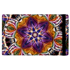 Kaleidoscope Pattern Kaleydograf Apple Ipad 3/4 Flip Case by Celenk
