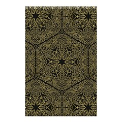 Texture Background Mandala Shower Curtain 48  X 72  (small)  by Celenk